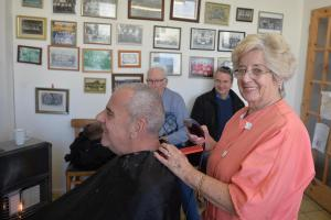 Hairdresser has been cutting hair for 66 years