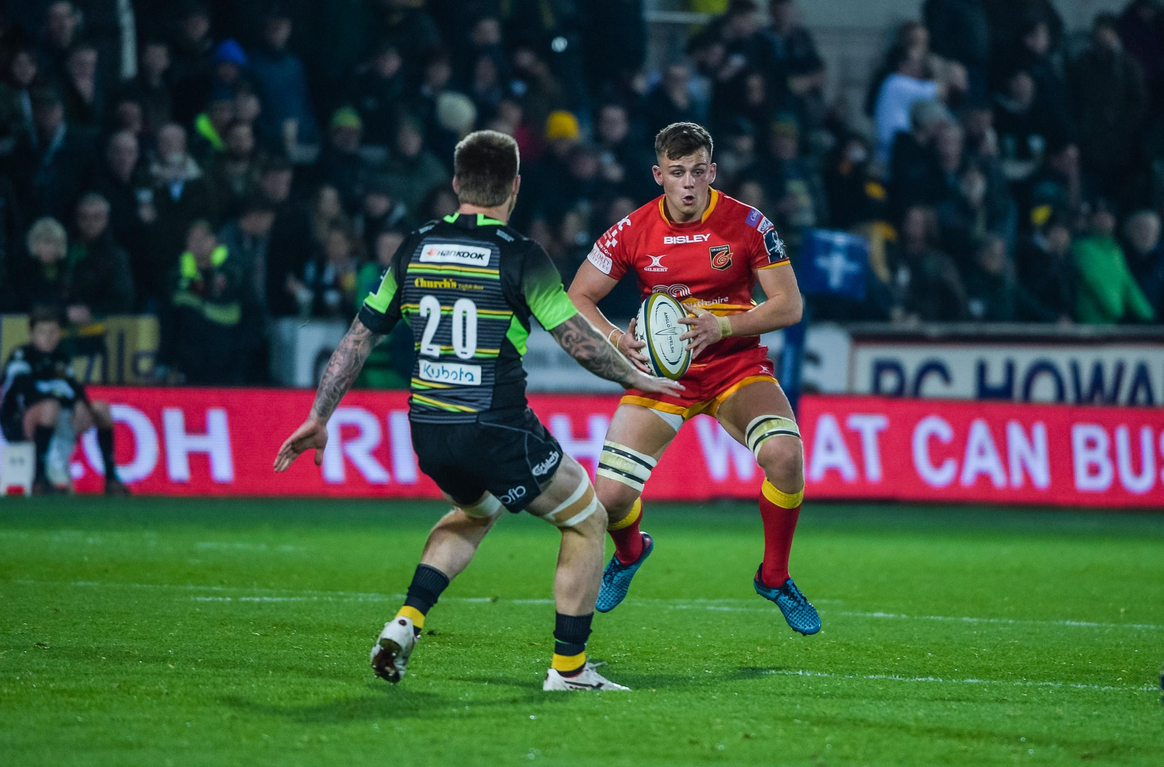 ABSENT: Dragons flanker Lennon Greggains will not feature for Wales U20