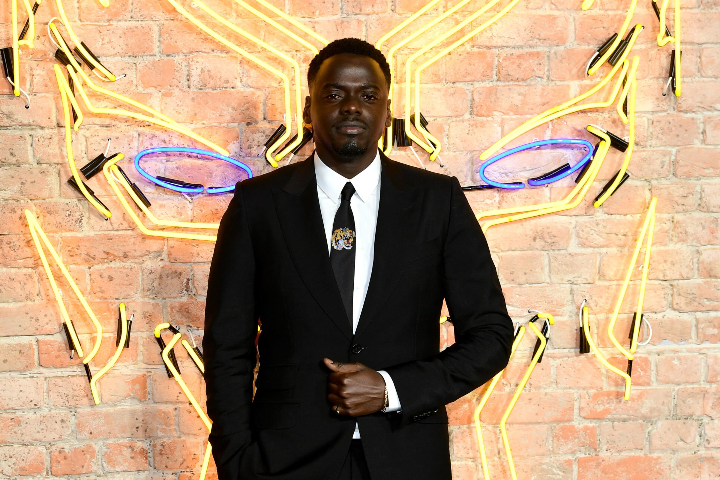 Daniel Kaluuya was speaking at Black Panther's European premiere on Thursday night (Ian West/PA)