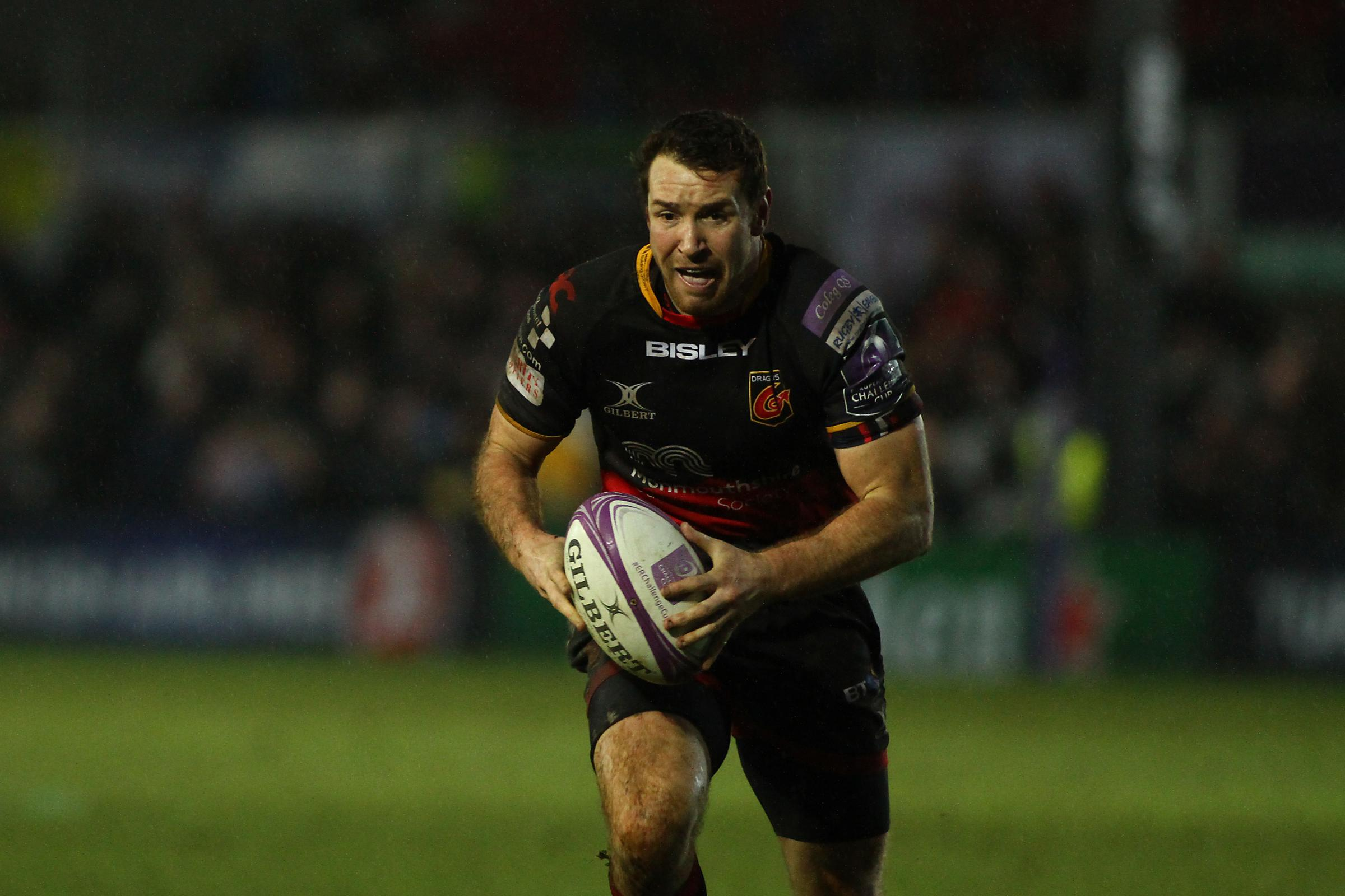 20.01.18 Dragons v Union Bordeaux Begles - European Rugby Challenge Cup -.Adam Warren of Dragons.