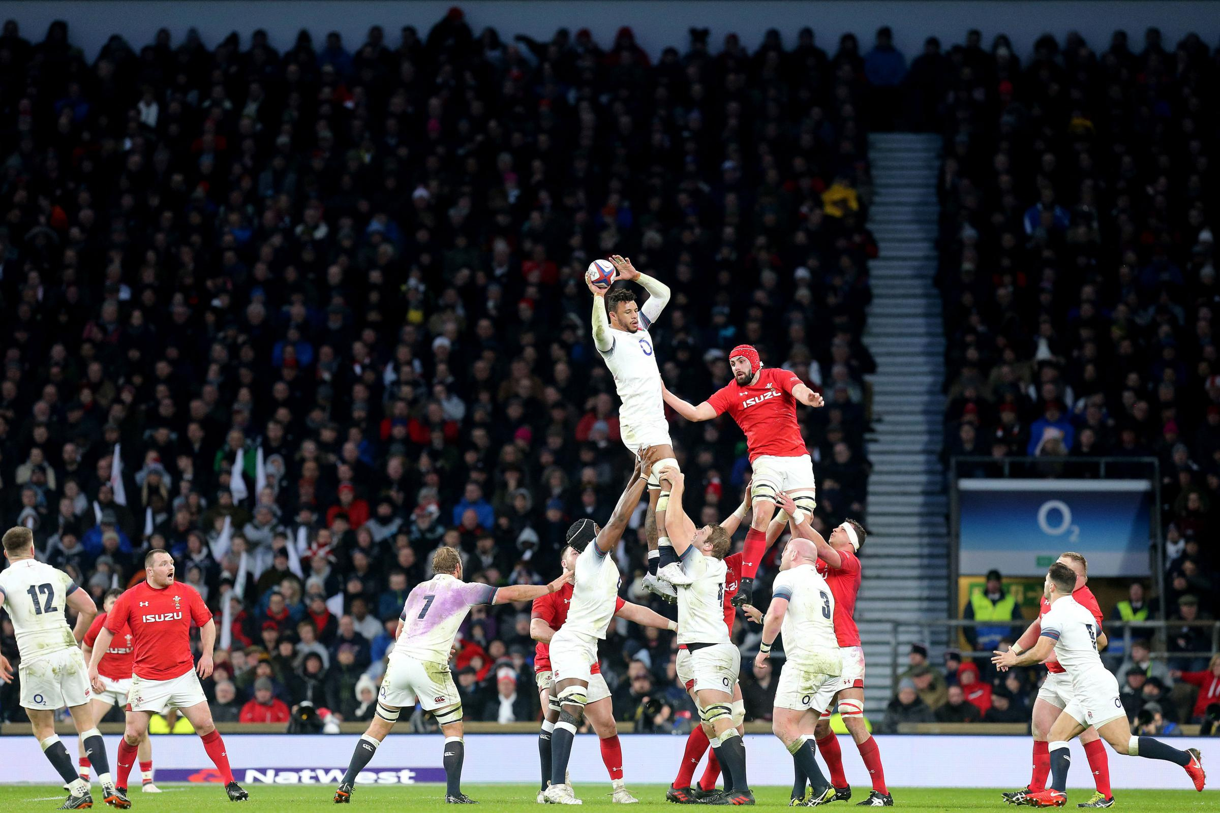LINEOUT CHALLENGE: Wales lock Cory Hill