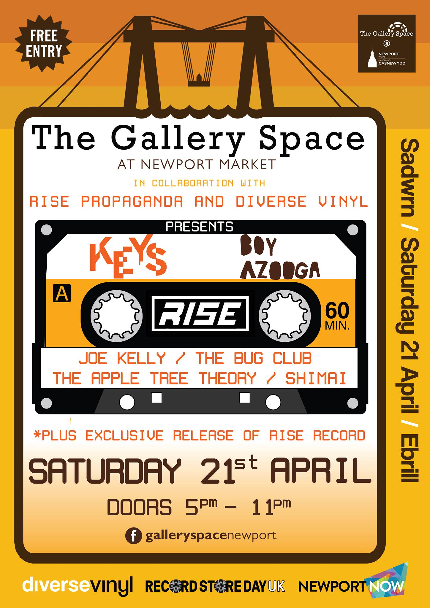 Record Store Day at The Gallery Space