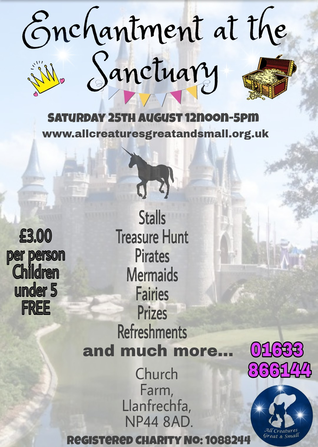 Enchantment at the Sanctuary - All Creatures Great & Small Open Day 2018