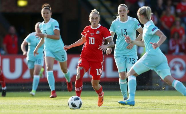 WORLD CUP DREAM: Jess Fishlock has more than a century of caps for Wales