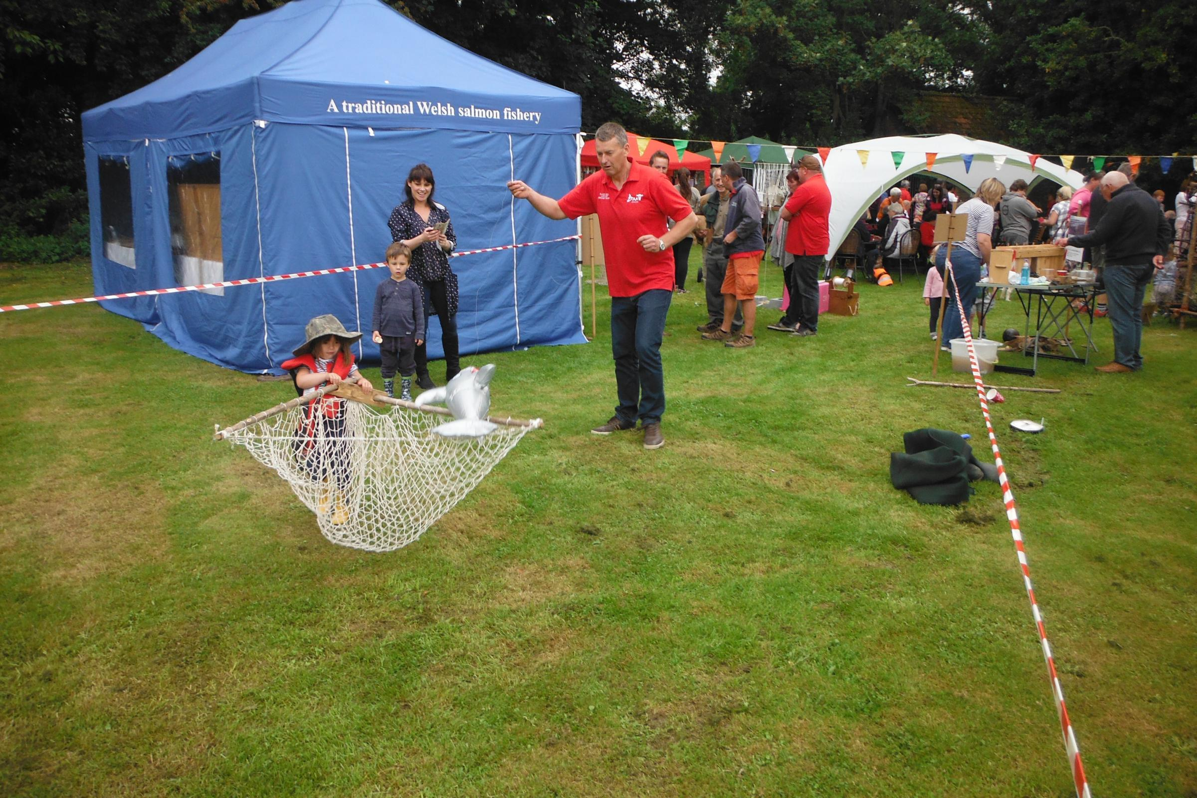 Black Rock lave net fishery open day