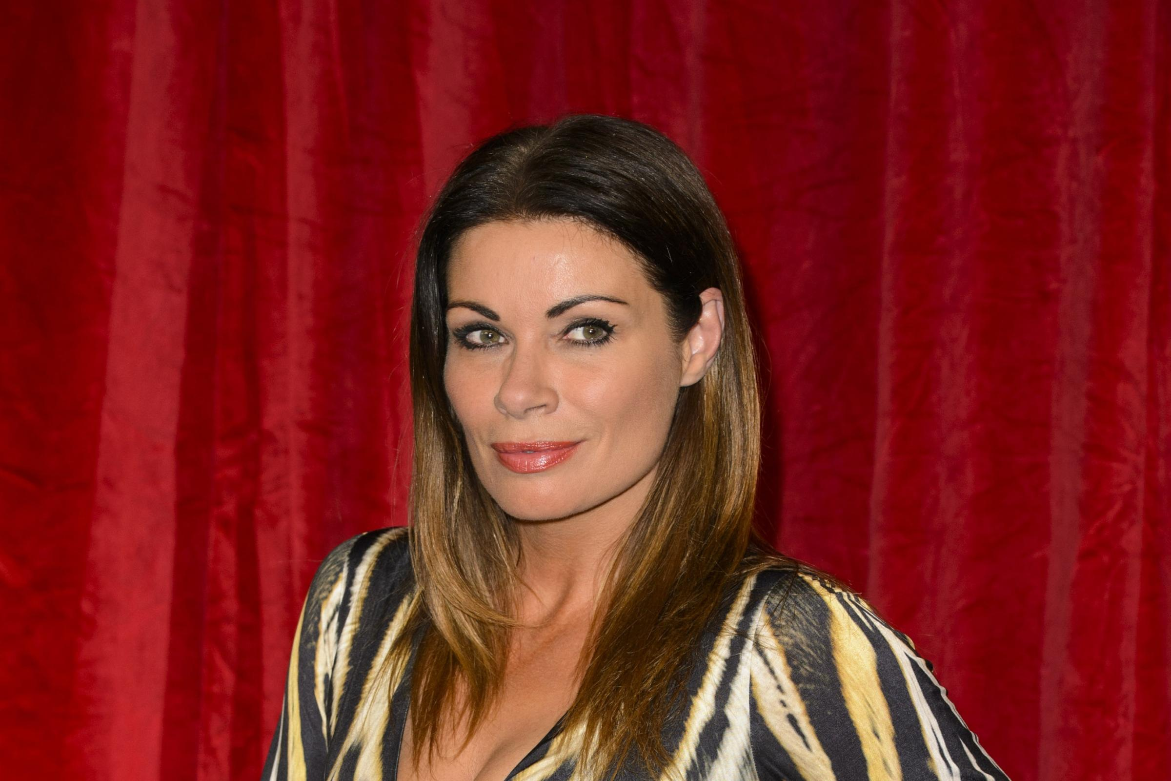 Alison King on the red carpet