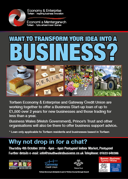 Want to transform your idea into a business?