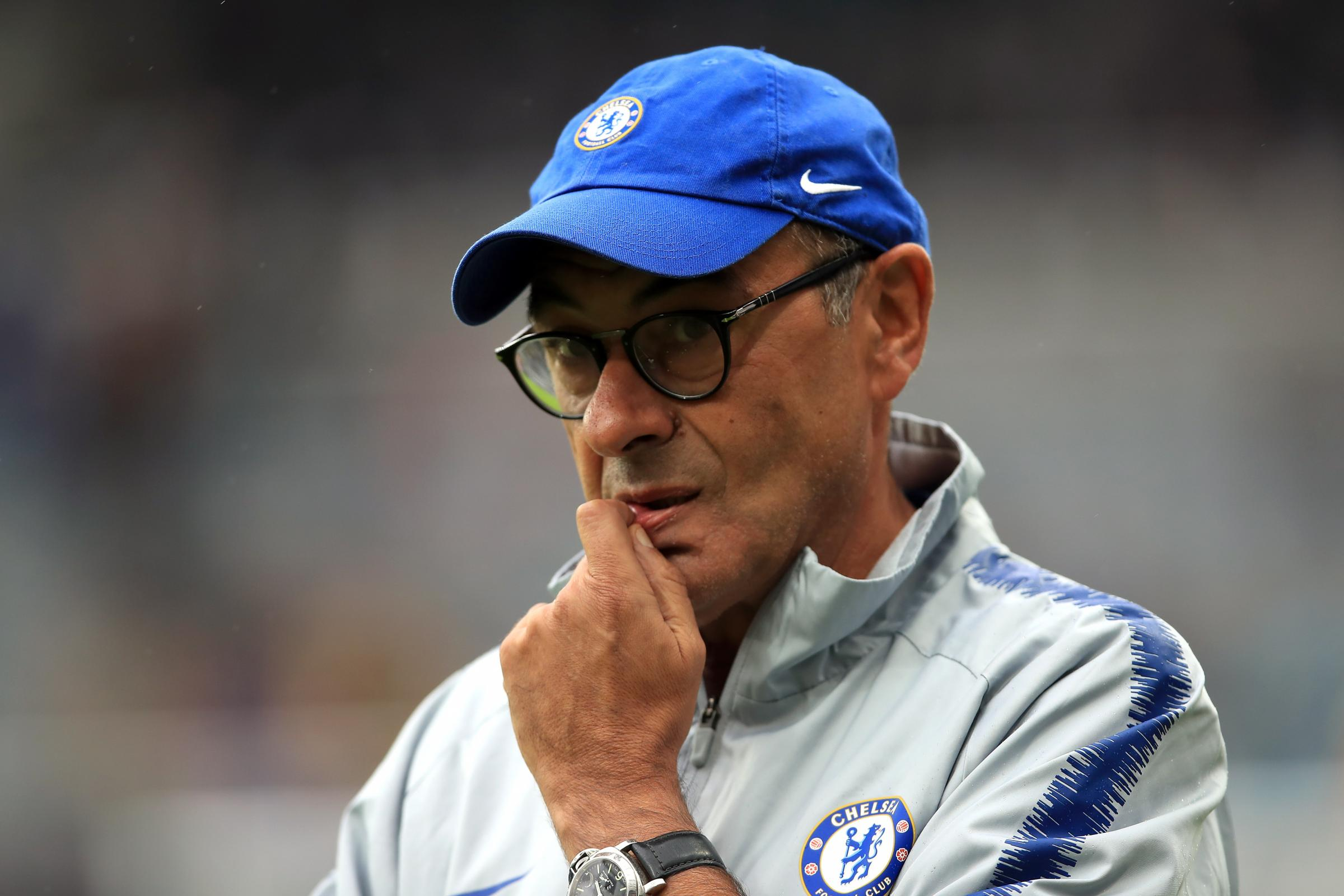 Maurizio Sarri's Chelsea side were held at West Ham