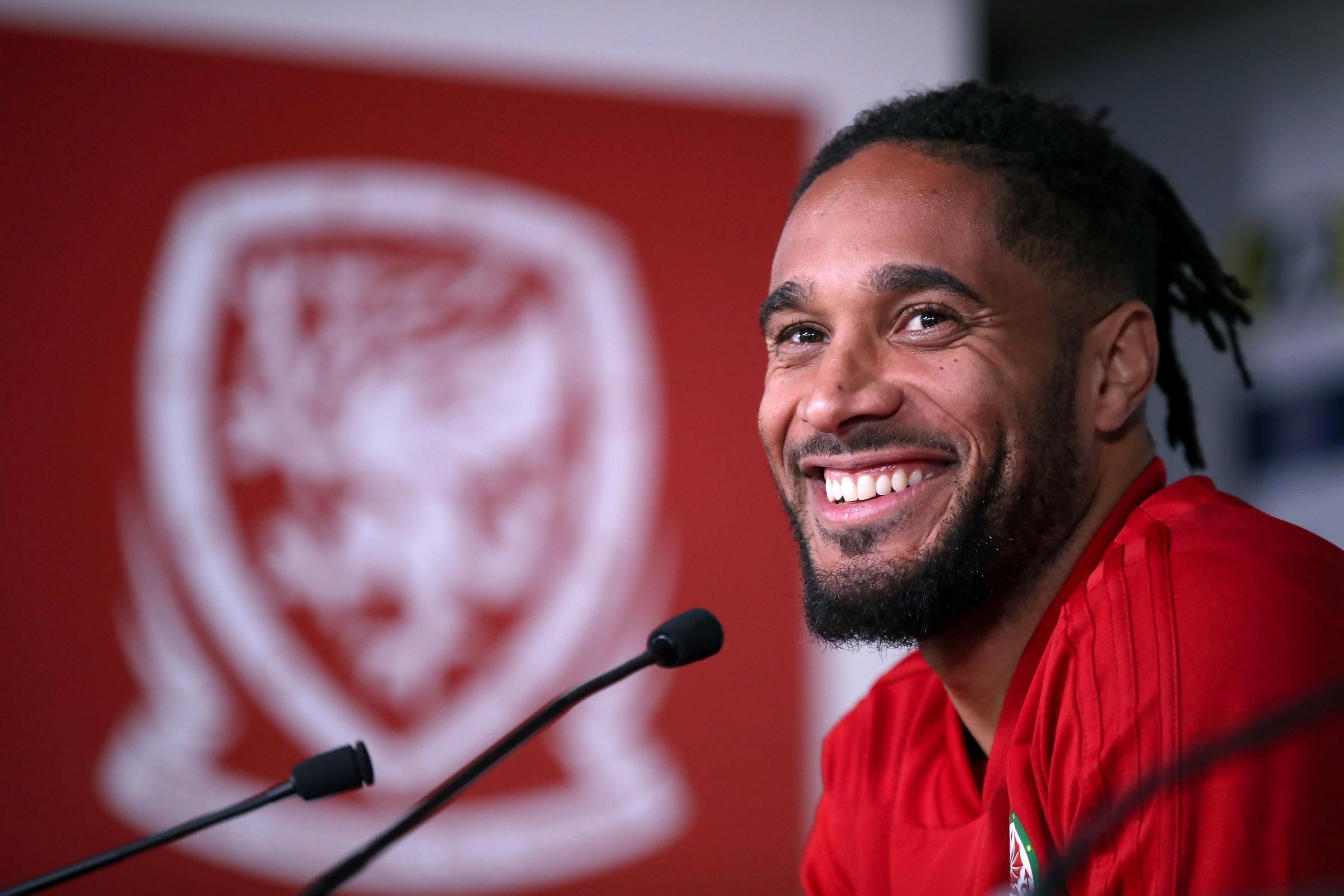 IMPRESSED: Wales skipper Ashley Williams