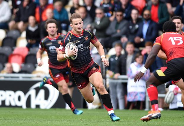 Campaign Series: STAR MAN: Hallam Amos is leaving the Dragons
