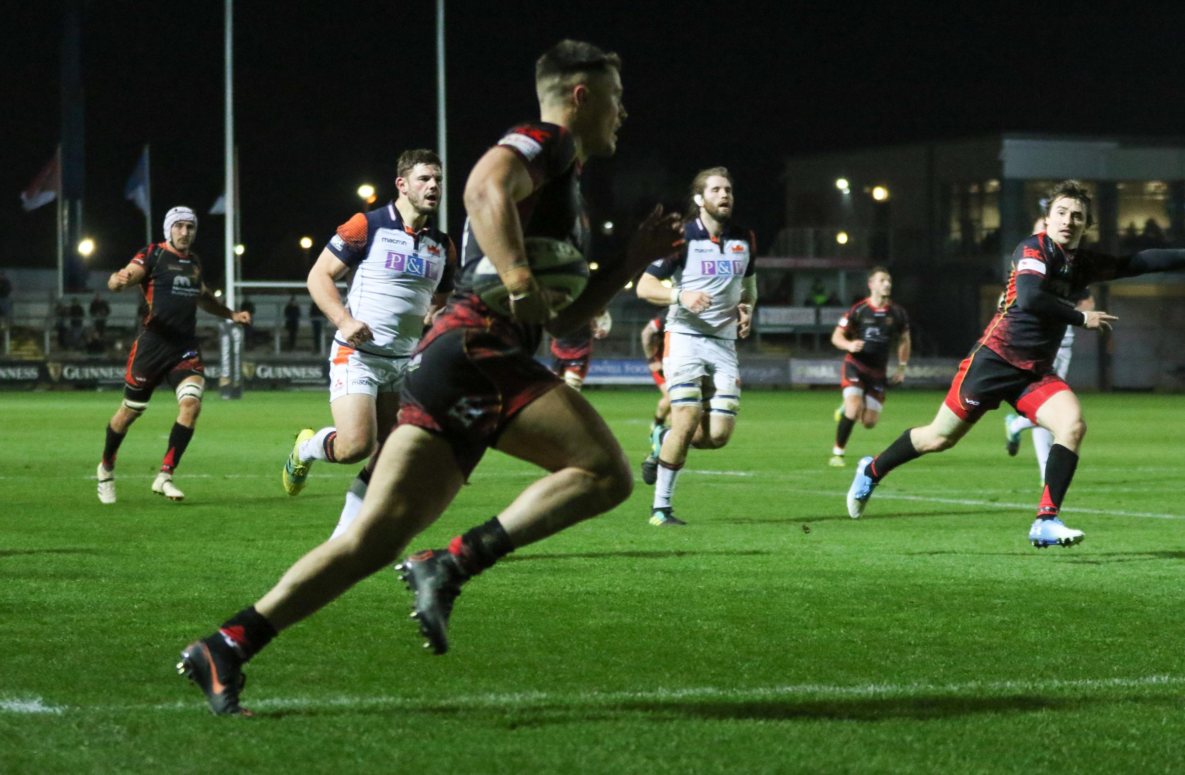 Dragons 18 Edinburgh 12