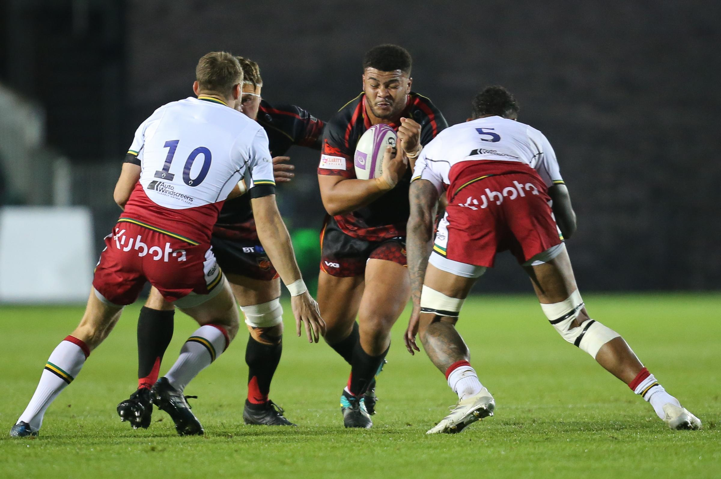Dragons lose Wales prop Brown until New Year