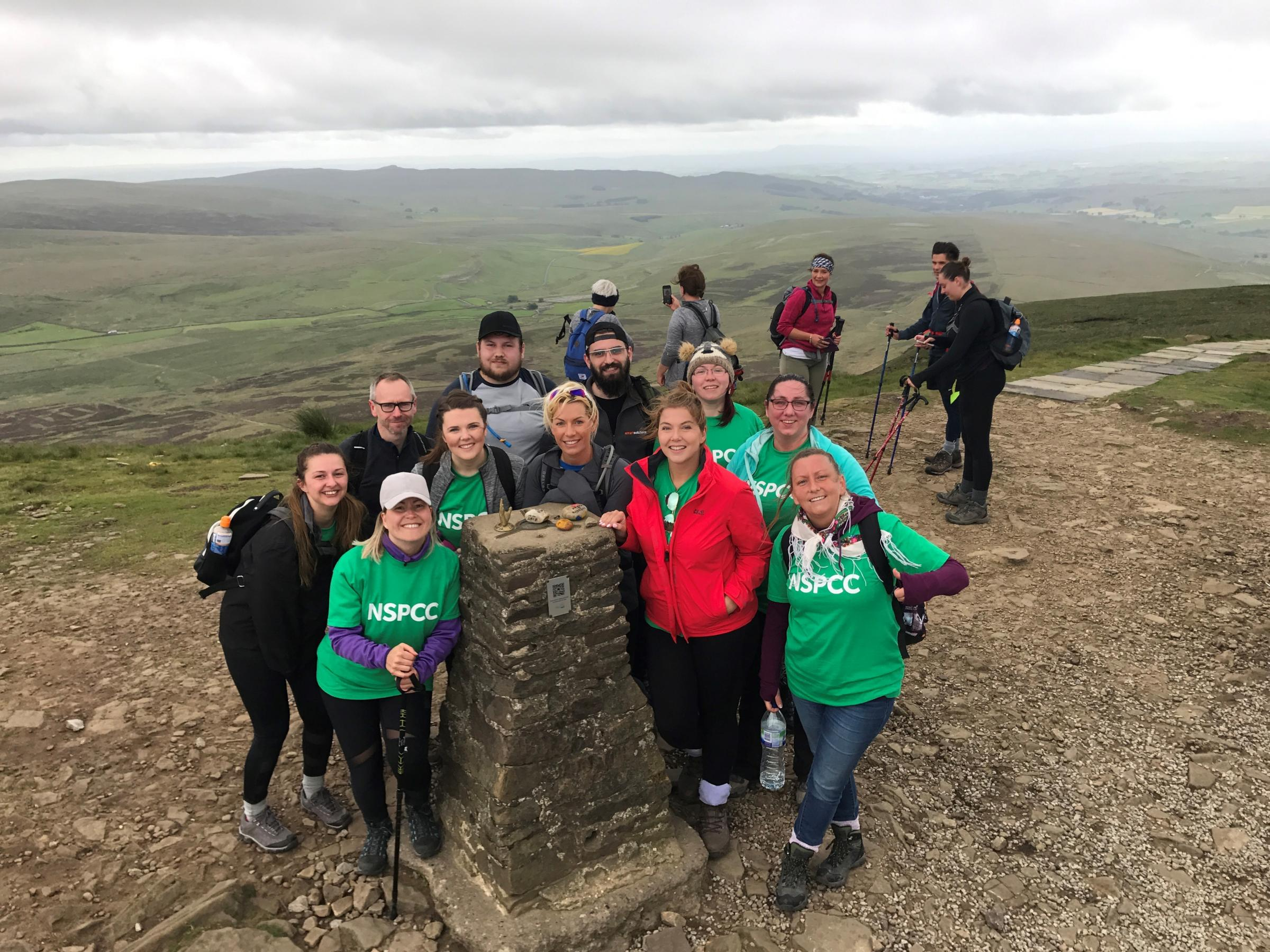 View from the Top – Smart Solutions staff tacke the 'Yorkshire Three Peaks' challenge in aid of NSPCC