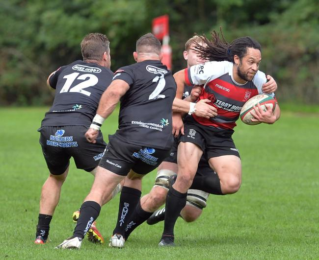 BOOST: Leon Andrews, right, returns for Cross Keys at Neath today. Picture: www.christinsleyphotography.co.uk