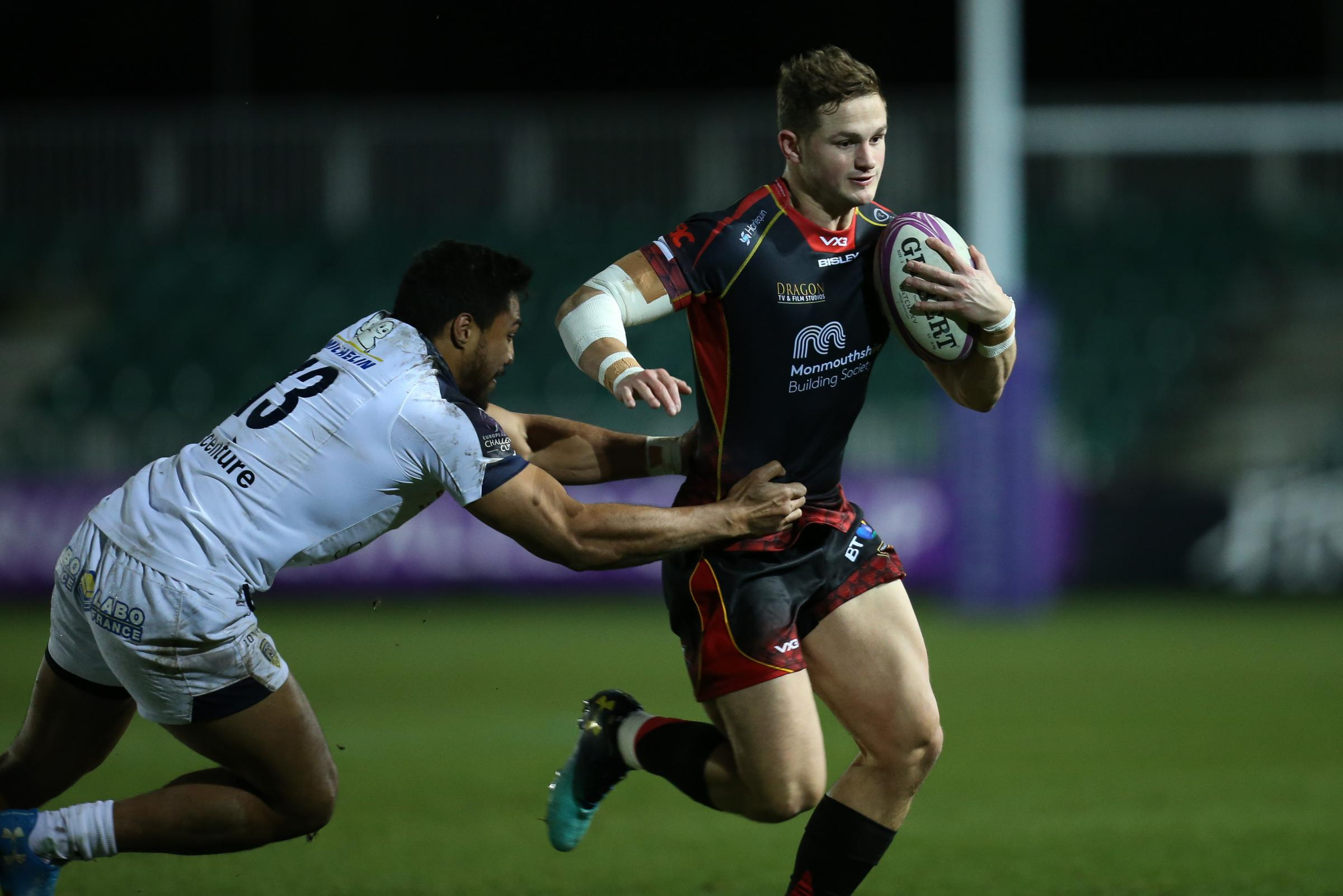 IN DEMAND: Dragons and Wales back Hallam Amos