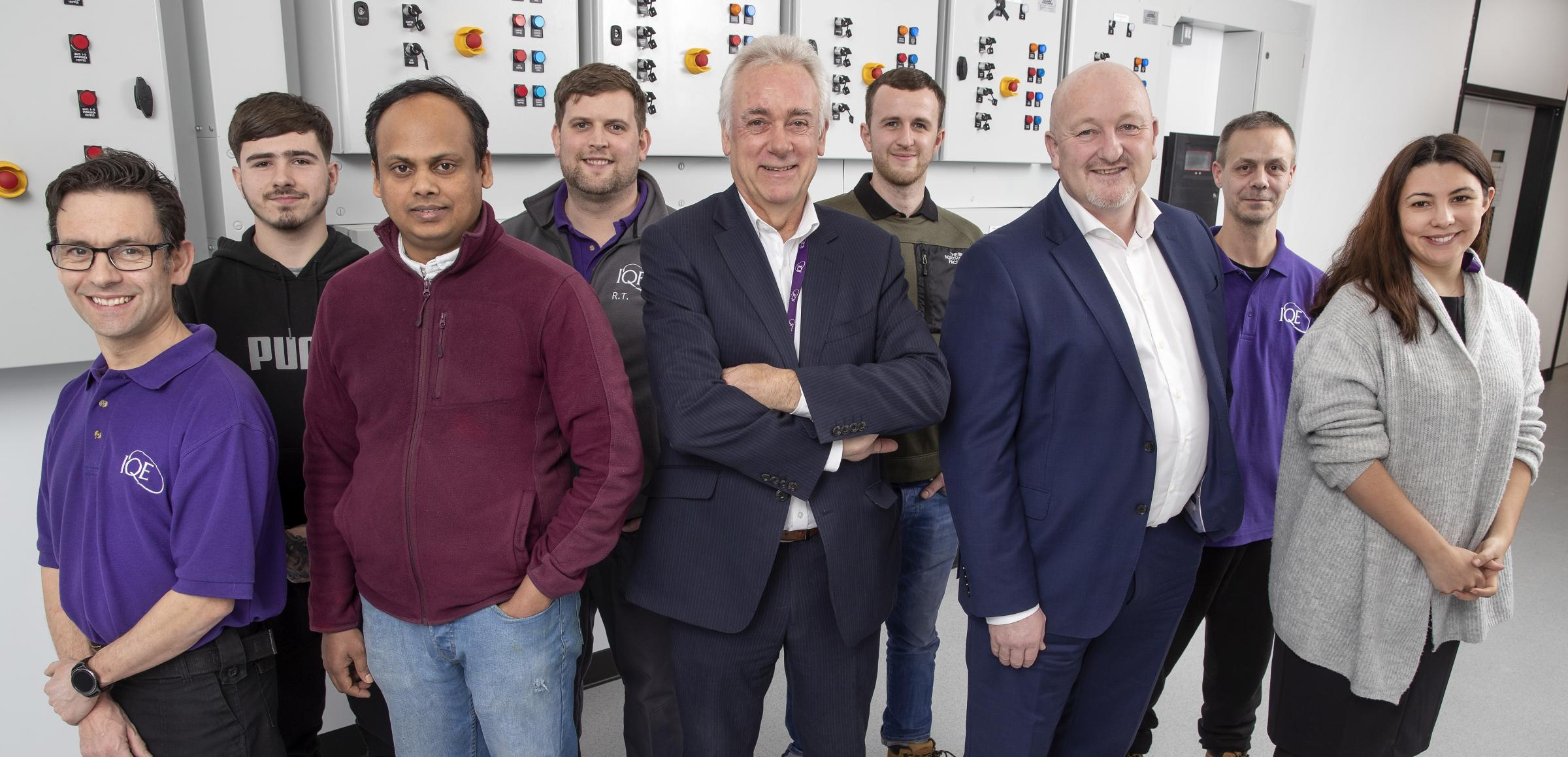 Cardiff Capital Region City Deal-backed Compound Semiconductor Foundry Recruits First Staff