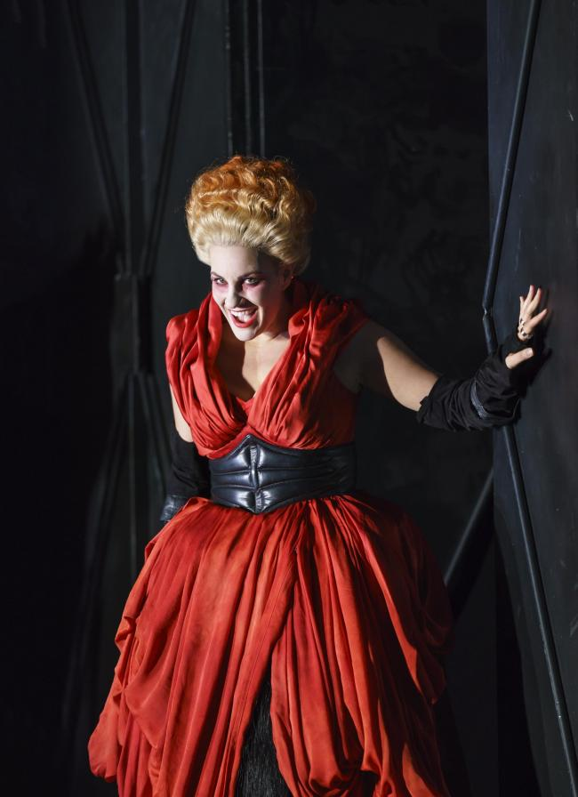 Joyce El-Khoury as Elisabetta in Welsh National Opera's Gaetano Donizetti Picture: Bill Cooper