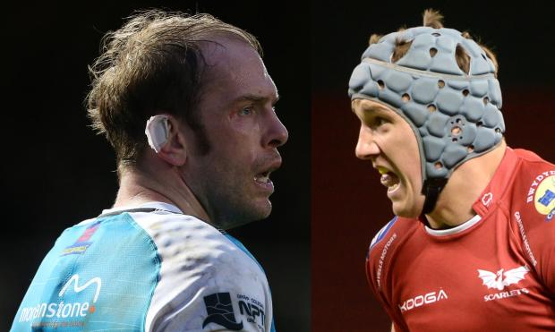 Campaign Series: MERGER: Talks were held to combine Alun Wyn Jones' Ospreys and Jonathan Davies' Scarlets