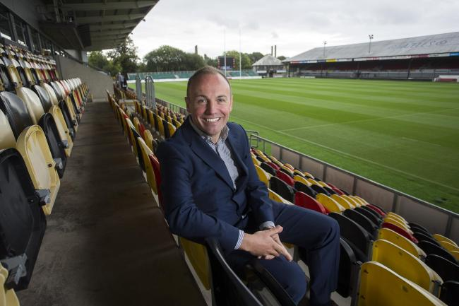 IN TALKS: Dragons chairman David Buttress has been involved in the Project Reset discussions
