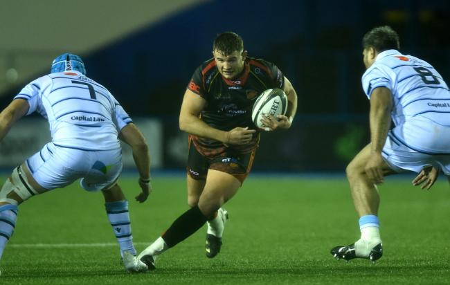 WELCOME RETURN: Wales hooker Elliot Dee will return to the Dragons front row on Saturday