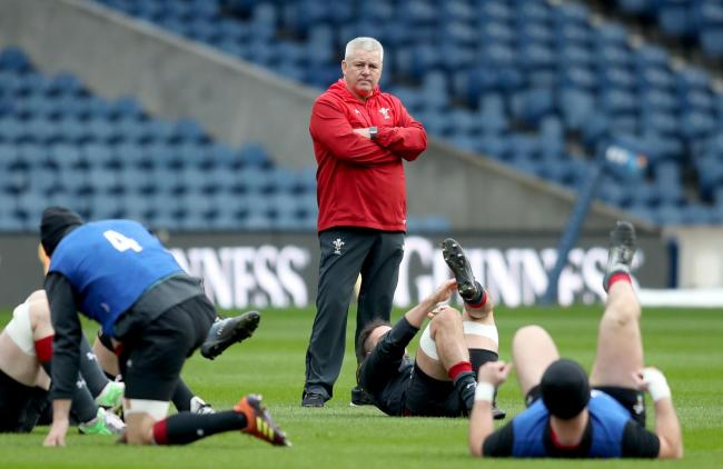 DECISIONS: Wales boss Warren Gatland will have to trim his 42-man squad down to 31 for the World Cup