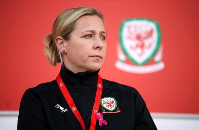 BACK ON PARADE: Jayne Ludlow and her Wales team return to Rodney Parade next Thursday. Pic: Nick Potts/PA Wire