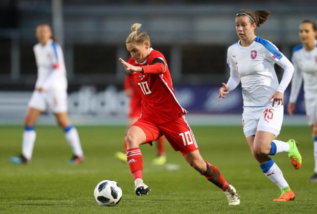 Campaign Series: STAR: Jess Fishlock on the charge for Wales at Rodney Parade