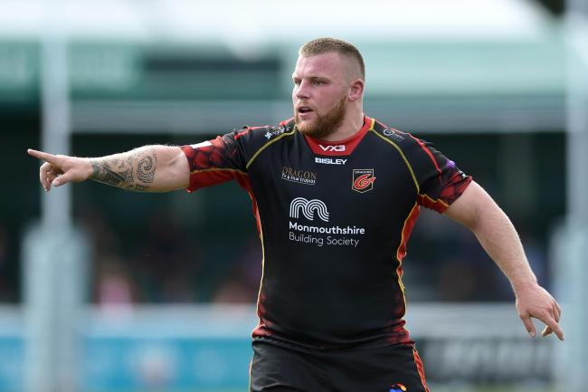NEW DEAL: Lloyd Fairbrother has signed a contract extension at the Dragons