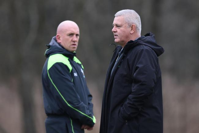 DECISION TIME: Wales boss Warren Gatland (right) says defence coach Shaun Edwards needs to decide his future swiftly