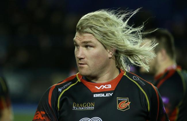 HOPEFUL: Richard Hibbard believes the Dragons can make strides