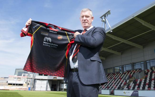 NEW BOSS: Dean Ryan has been appointed as director of rugby at the Dragons