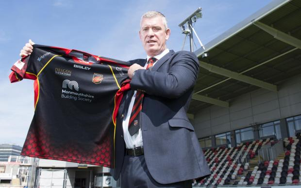 Campaign Series: BIG JOB: Dean Ryan is the new Dragons boss