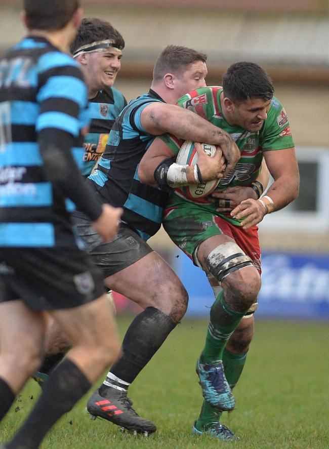 LEADING THE CHARGE: Ebbw Vale lock Ashley Sweet has taken over as captain from Ronny Kynes