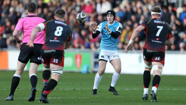 BIG SIGNING: The Dragons have snapped up Sam Davies from the Ospreys