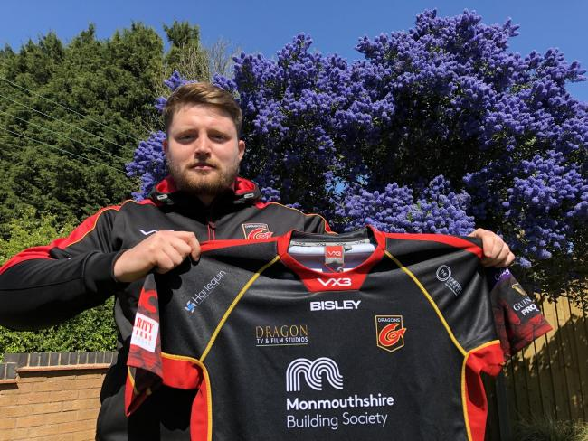 NEW SIGNING: The Dragons have signed prop Jack Cosgrove